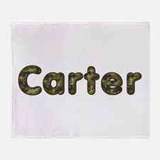 Carter Army Throw Blanket