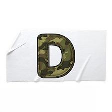 D Army Beach Towel