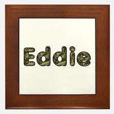 Eddie Army Framed Tile