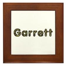 Garrett Army Framed Tile