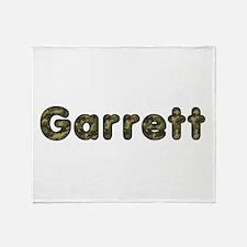 Garrett Army Throw Blanket