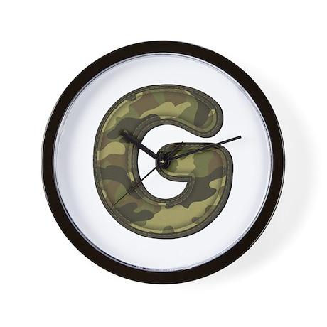 G Army Wall Clock