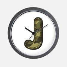 J Army Wall Clock