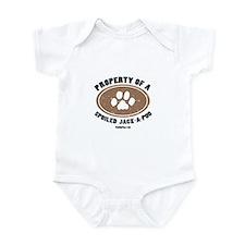 Jack-A-Poo dog Infant Bodysuit