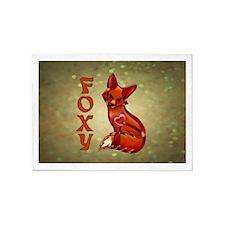 Foxy 5'x7'Area Rug