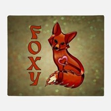 Foxy Throw Blanket