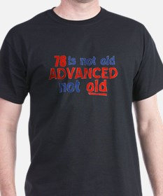 Funny 78 year old designs T-Shirt