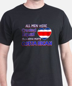 Costa rican Wife Designs T-Shirt