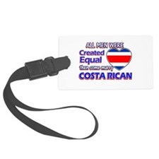 Costa rican Wife Designs Luggage Tag