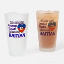 Haitian Wife Designs Drinking Glass