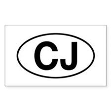 jeep cj Decal