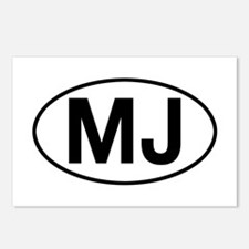 jeep mj Postcards (Package of 8)