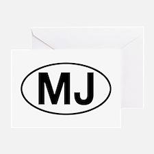 jeep mj Greeting Card