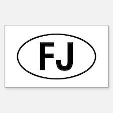 toyota FJ Decal
