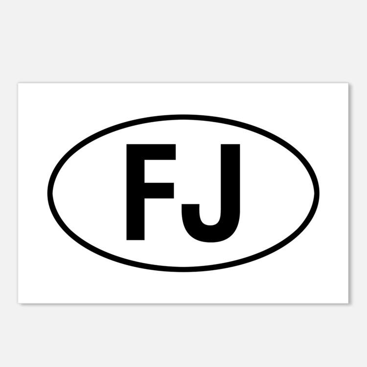 toyota FJ Postcards (Package of 8)