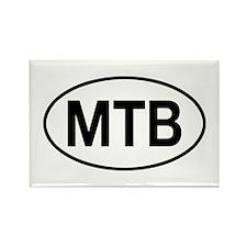 MTB Rectangle Magnet