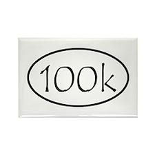 ultramarathon100k Rectangle Magnet