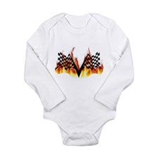 Racing Flag Fire 1 Body Suit