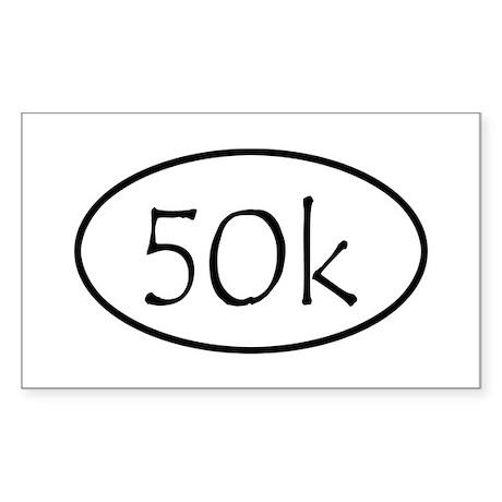 ultramarathon50k Sticker (Rectangle)