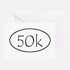 ultramarathon50k Greeting Card