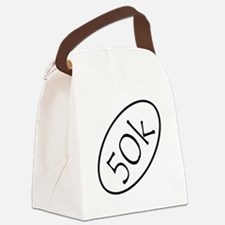 ultramarathon50k 3-5 x 3-5 Canvas Lunch Bag