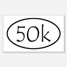 ultramarathon50k 4-58 x 2-91 Decal