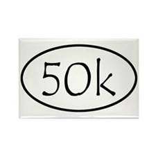 ultramarathon50k 4-58 x 2-91 Rectangle Magnet