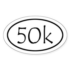 ultramarathon50k 4-58 x 2-91 Decal
