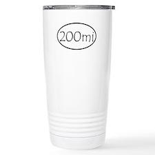 ultracycling - 200mi Travel Coffee Mug