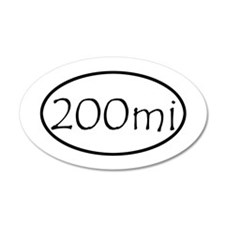 ultracycling - 200mi Wall Decal