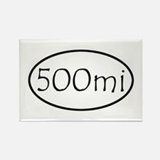 ultracycling - 500mi Rectangle Magnet