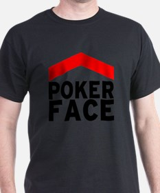 poker face - front T-Shirt