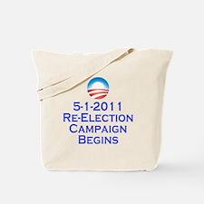 obama reelection shirt2 Tote Bag