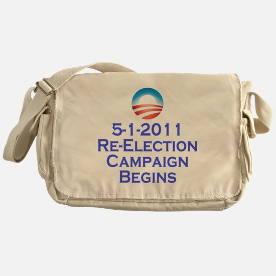 obama reelection shirt2 Messenger Bag
