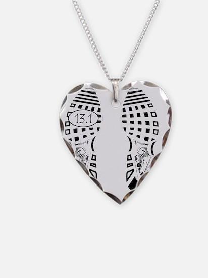 13.1a shoeprint shirt Necklace