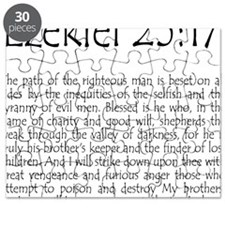 ezekiel2517 quote Puzzle