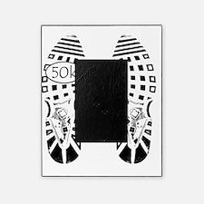 halfmarathon shoeprint shirt Picture Frame