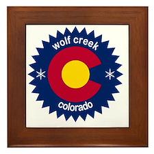 wolf creek Framed Tile