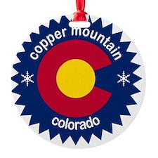copper mountain Ornament