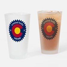 crested butte Drinking Glass