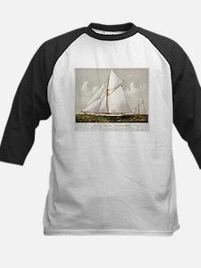 Sloop yacht Volunteer - 1887 Tee