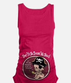 pirate-hook-col-LTT.png Maternity Tank Top