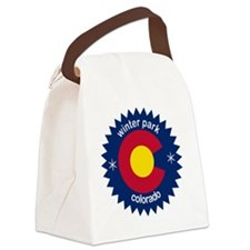 winter park Canvas Lunch Bag