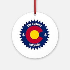ski cooper Round Ornament