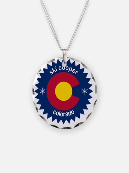 ski cooper Necklace Circle Charm