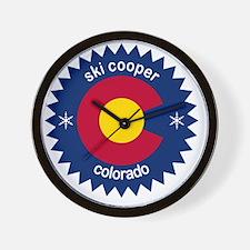 ski cooper Wall Clock