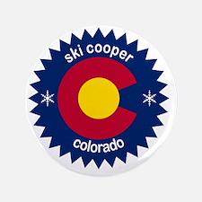 """ski cooper 3.5"""" Button"""