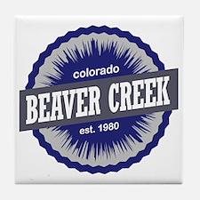 Beaver Creek Tile Coaster