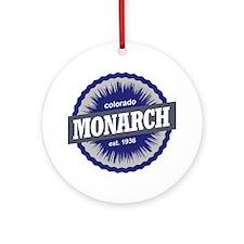 Monarch Round Ornament