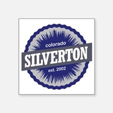 "Silverton Square Sticker 3"" x 3"""